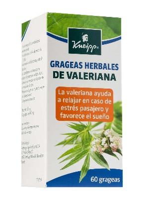 Kneipp valeriana 200 mg 60 grageas
