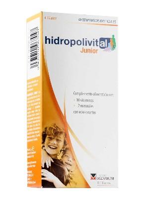 Hidropolivital junior 40 comprimidos masticables