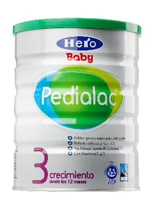 Hero baby pedialac ® 3 leche crecimiento 800 gramos