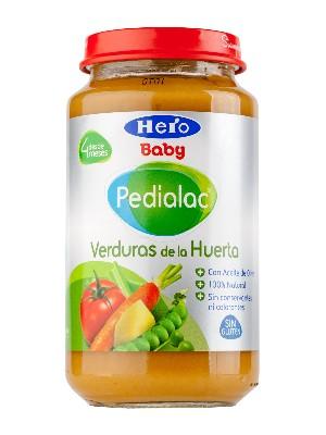 Pedialac potito verduras de la huerta 250gr