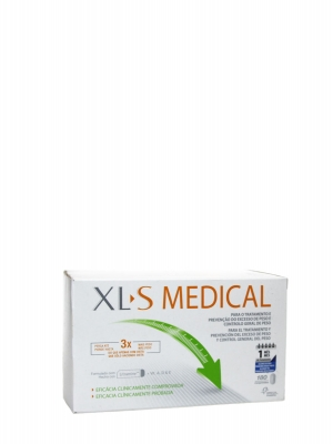 Xls medical capta grasas 180 comprimidos