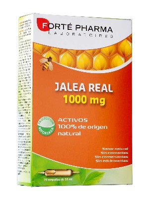 Forte pharma jalea real 1000mg 20 ampollas