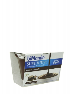 Bimanán sustitutive copa chocolate 210 gr