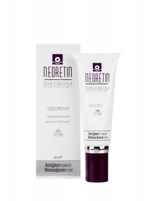 Neoretin discrom control gel crema despigmentante con spf 50 de 40 ml