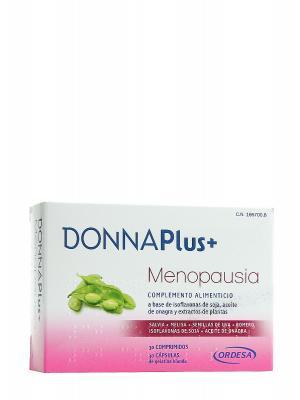 Donna plus menopausia 30 caps + 30 comp