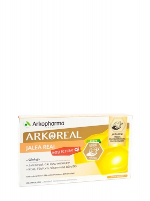 Arkoreal intelectum 20 ampollas