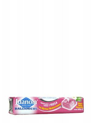 Caramelos de fresa vitamina c y hierbas medicinales juanola