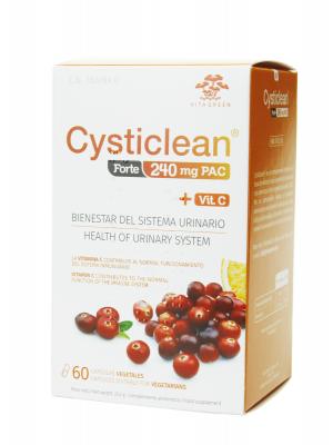 Cysticlean forte 240mg pac 60 cápsulas