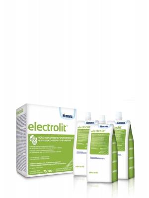 Humana electrolit plus solución de rehidratación oral líquida 3x250ml