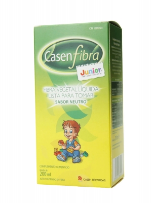 Casenfibra junior fibra vegetal líquida sabor neutro 200 ml