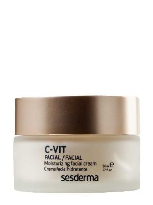 Sesderma c-vit crema facial hidratante 50 ml.