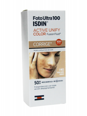 Isdin foto ultra 100 active unify fusion fluid con color spf 50+ 50ml