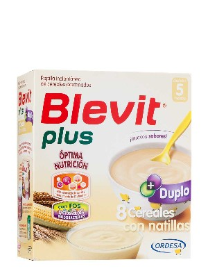 Blevit plus duplo 8 cereales natillas