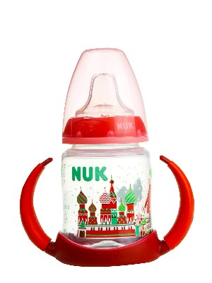 Nuk biberon travel entrena silicona 150ml