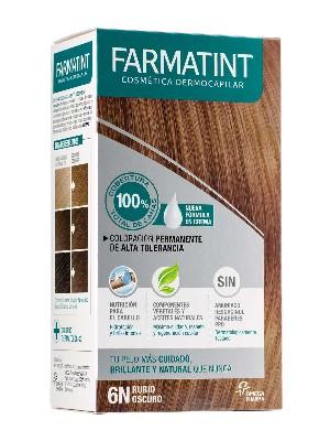 Farmatint 6n rubio oscuro crema