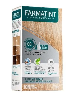 Farmatint 10n  rubio platino crema