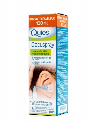 Deiters quies docuspray higiene de oídos 100 ml