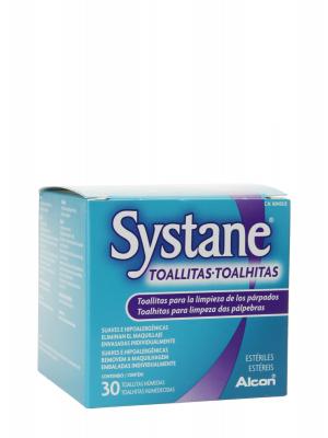 Systane toallitas húmedas estériles 30 unidades