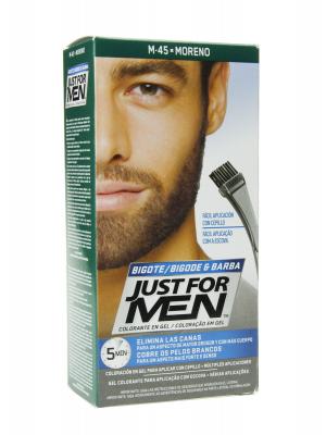 Just for men bigote y barba m 45 moreno