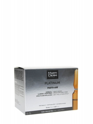 Martiderm ® platinum photo age 30 ampollas 2ml