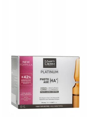 Martiderm ® platinum photo age 30 ampollas 2ml