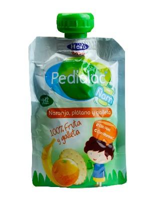 Pedialac ñam bolsita naranja plátano hero baby 100 g