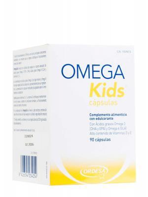 Omega kids 90 cápsulas