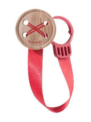 Suavinex broche madera con cinta