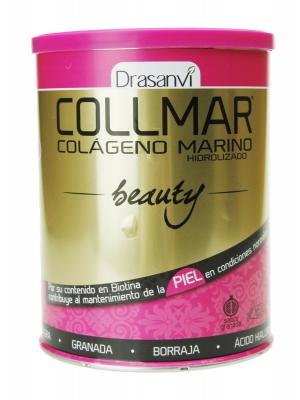 Collmar beauty colágeno marino hidrolizado sabor granada 275 gr