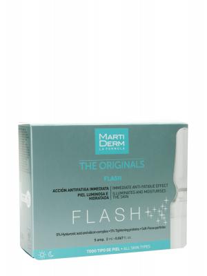 Martiderm® flash 5 ampollas 2 ml · piel deslumbrante