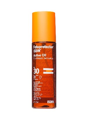 Isdin fotoprotector active oil spf 30 200 ml