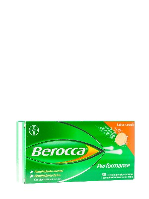 Berocca performance 30 comp efervescentes naranja