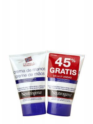 Neutrogena duplo crema de manos concentrada 2x50ml