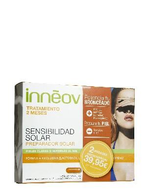 Pack sensibilidad solar inneov x2 meses 60 cápsulas