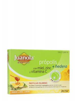 Comprimidos con própolis y hiedra juanola 24 comprimidos.