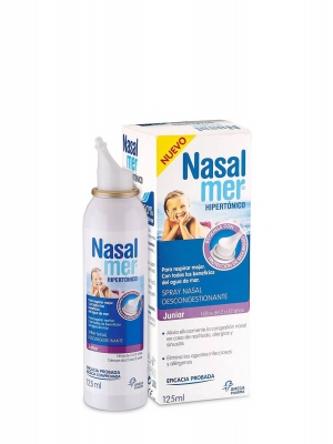 Nasalmer junior spray descongestionante 125 ml