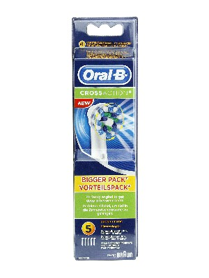 Recambio de cepillo eléctrico oral b crossaction  5