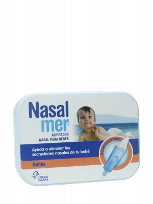 Nasalmer aspirador nasal para bebes +3 boquillas desechables