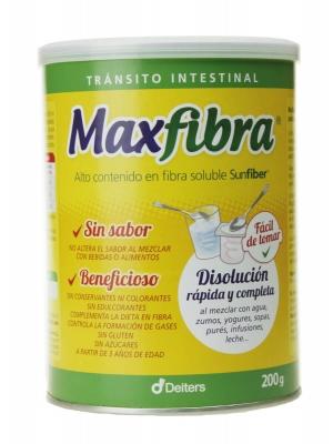 Deiters maxfibra sabor neutro 200 gr