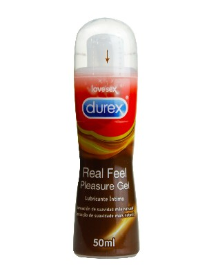 Durex real feel lubricante íntimo 50 ml