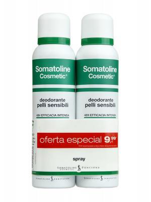 Desodorante en spray para pieles sensibles oferta especial 150ml x 2