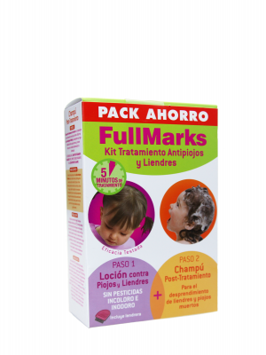 Full marks kit champú+loción