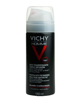 Vichy desodorante hombre triple difusión spray