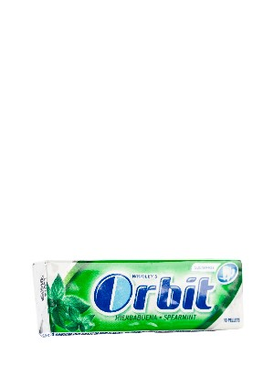 Chicles sabor hierbabuena orbit, 10 grageas