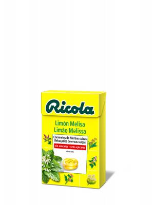 Ricola caramelo limon melisa y hierbas suizas 50 gr
