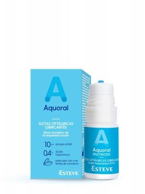 Aquoral multidosis solución oftálmica 10 ml
