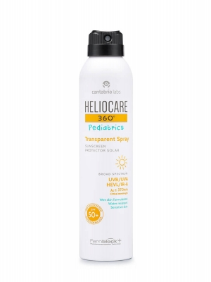 Heliocare 360º pediatrics transparent spray spf 50+ 200 ml