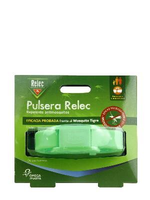 Pulsera antimosquitos relec color verde