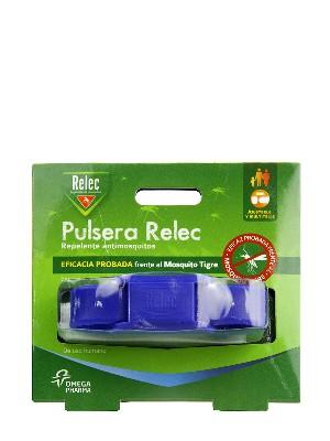 Pulsera antimosquitos relec color azul