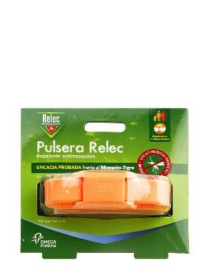 Pulsera antimosquitos relec color naranja